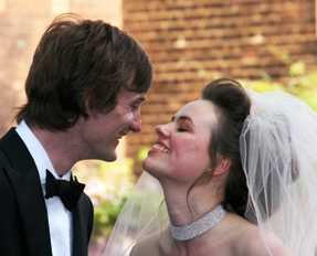 London weddings - Happy Bride and Groom